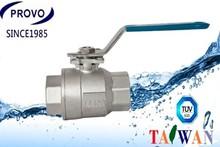 Top sale long handle satinless ball valve dn 32 ball valve