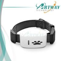 2015 New Factory Mini Waterproof Pet Tracker Collar IOS App and Andriod Apk Pets Animal GPS Tracker Locator