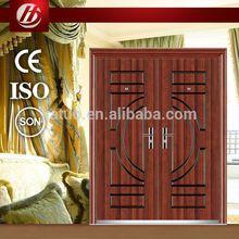 Hot sales Top quality unique cheap anti-theft steel door popular in ukraine market
