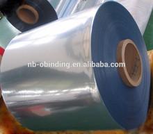 PVC film for folding box