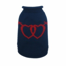 Newest Loving red heart pattern cute dog clothes RSH2104