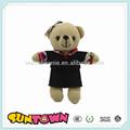De la felpa oso de peluche juguetes, oso de peluche con un paño, oso juguetes