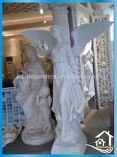 Antique imitate marble statues