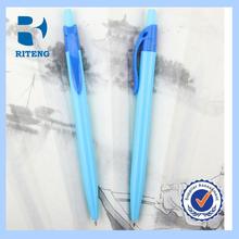 Factory price white barrel plastic pen promotional plastic pen with logo pen logo--RTPP0014