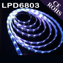 CE ROHS 3 years warranty ic LPD6803 rgb led strip light 12v led strip controller 50cm
