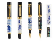 porcelain pen with different design, gold plating parts, roller pen MDS-RJ011