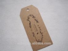 Nylon string fashion hang tags for hair