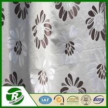 High quality salon decorating jacquard fabric curtains