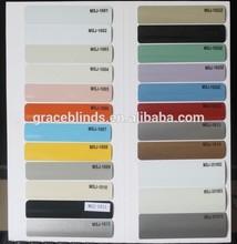 16/25/35/50mm Aluminum Slats for Venetian Blinds