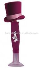 lovely promotional vinyl wag head ball pen