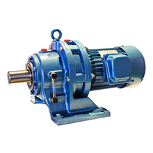 China supplier Guomao cycloidal universal Reduction gear with electric motor for conveyor