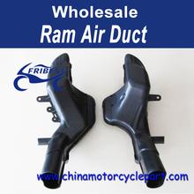 Ram Air Intake Tube Duct Black For Suzuki Gsxr1300 For Hayabusa 2008-2014 09 10 11 12 13 FRASU008