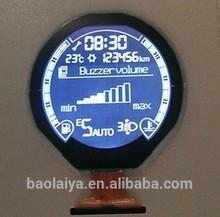 Rohs custom round lcd display screen in China