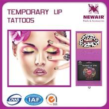 Joyme top hot bulk temporary professional lip tattoo sticker kit