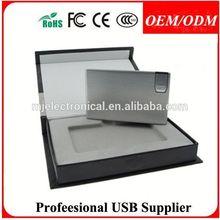 Free sample,Pull -out Alu/Metal Card USB Flash drive. 1GB 2GB 4GB 8GB 16GB 32GB,Paypal/Escrow