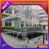 ESI factory price concert equipment supplies 18mm plywood carpet stage