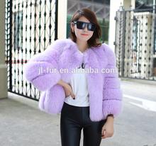 2014 Wholesal Lastest Design Real Fur Coat, Women Winter Coats with Factory Price