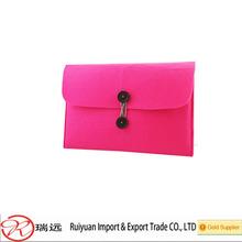 2014 Wholesale fashion wool felt laptop bag made in China