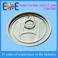 Ronda y Accpet personalizar 300 # 73 mm de aluminio eoe / fácil de extremo abierto