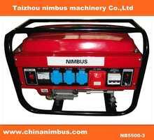 Gasoline genset for universal usage mini electric start generator
