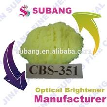 Branqueador óptico para o sabão, detergente em pó e líquido cbs-x