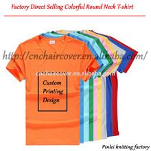 custom printing t-shirt , colorful round neck t-shirt , blanket t-shirt