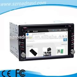 6.2 inch 2 din universal car radio with sim card bluetooth 3g wifi OBD