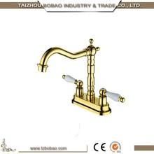 Professional antique brass garden faucet for wholesales