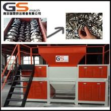 Chinese manufacture plastic foam, film, cardboard, scrap metal, electric chipper shredder