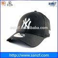 handmade black branding boné de beisebol