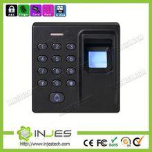 Mini Size 500 Fingerprint Capacity Optical Sensor Alarm And Bell Fingerprint Waterproof Access Control Reader