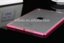 For New iPad mini Case, Premium Quality Durable Transparent Clear Slim TPU Back Cover for iPad mini 2\3 Case with Dustproof plug