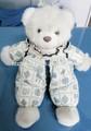 venta al por mayor de encargo lindo animal de peluche de juguete de peluche del oso de peluche con el vestido