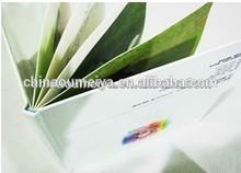 strong density self adhesive pvc sheets photo album (white & black)