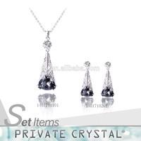 romantic necklace jeweller set