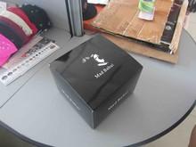 2014 custom baseball cap carton box print logo