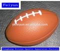 New design 13.2 CM brinquedo PU brinquedo bola de rugby outdoor mini esporte brinquedo dos desenhos animados PU bola colorida bola para venda