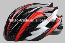 24 holes PC and EPS plastic unibody bike helmet