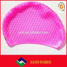 2014 hot selling custom logo printing waterproof swim caps