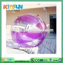 High quality stylish color water balls buy/aqua bubble ball on water/water babies tpu balls