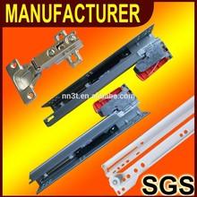 soft closing mini ball bearing drawer slides