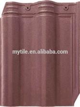 300*400mm purple royal roof tile for villa