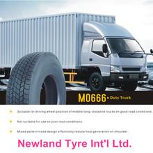 Marando Chengshan, Double coin, Triangle, Roadshine etc high quality 295/80R22.5 Mo666 truck tyre