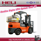 ANHUI HELI BRAND 3.0T GASOLINE NISSAN ENGINE LPG FORKLIFT CPQYD30 WITH CE FOR SALE