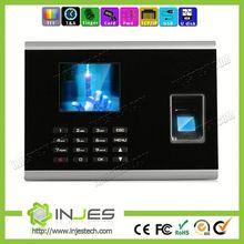 INJES Embedded Linux OS TFT Screen USB Optical Sensor TCP/IP biometric finger scan time attendance for developer