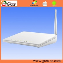 OEM factory 150Mbps ADSL 2+ wireless router same as 89841 with switch firewall function