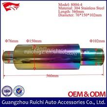 Factory Price Hi-Power 304 Stainless Steel Titanium Muffler