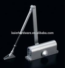 high quality aluminium hydraulic adjusting stopper door closer