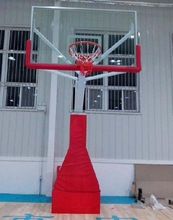 Outdoor movabl Manual hydraulic basketball hoops