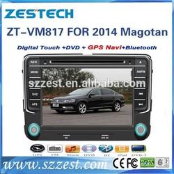 ZESTECH car navigation entertainment system for vw polo /Magotan 2014